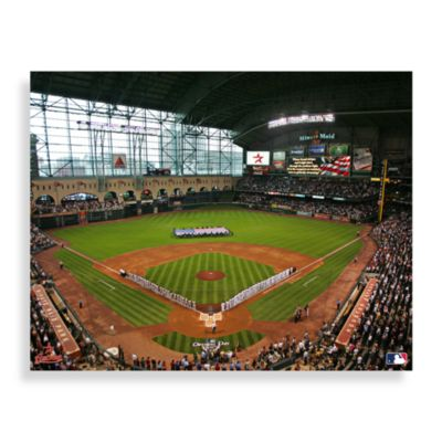 MLB Houston Astros Stadium Canvas Wall Art