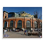 MLB Milwaukee Brewers Miller Park Canvas Wall Art