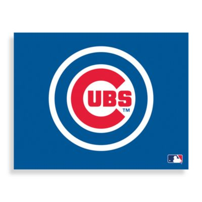 MLB Chicago Cubs Logo Canvas Wall Art