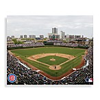 MLB Chicago Cubs Wrigley Field Canvas Wall Art