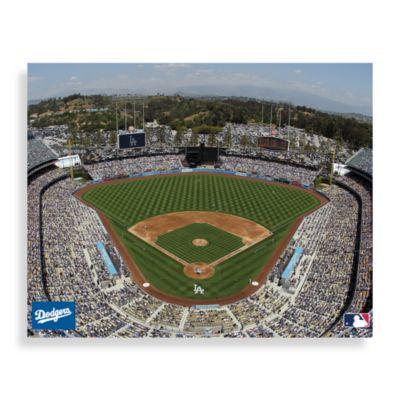 MLB Los Angeles Dodgers Stadium Canvas Wall Art