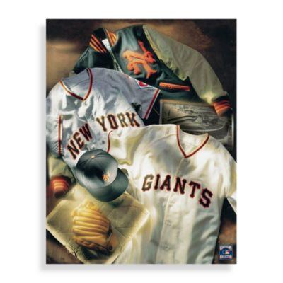 MLB San Francisco Giants Vintage Collage Canvas Wall Art