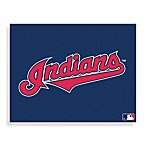 MLB Cleveland Indians Logo Canvas Wall Art