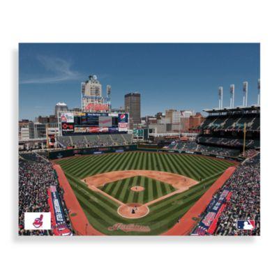 MLB Cleveland Indians Progressive Field Canvas Wall Art