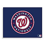 MLB Washington Nationals Logo Canvas Wall Art