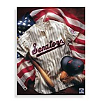 MLB Washington Nationals Vintage Collage Canvas Wall Art
