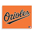 MLB Baltimore Orioles Logo Canvas Wall Art