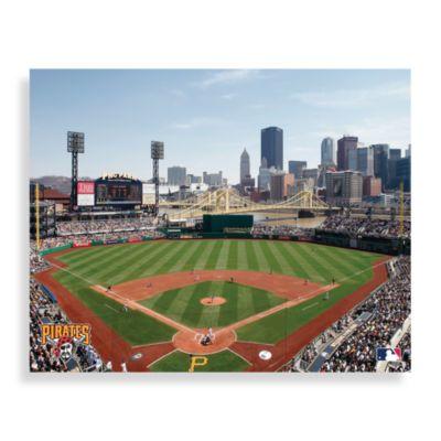 MLB Pittsburgh Pirates Stadium Canvas Wall Art