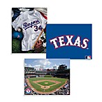 MLB Texas Rangers Canvas Wall Art