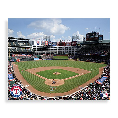 MLB Texas Rangers Arlington Ball Park Canvas Wall Art