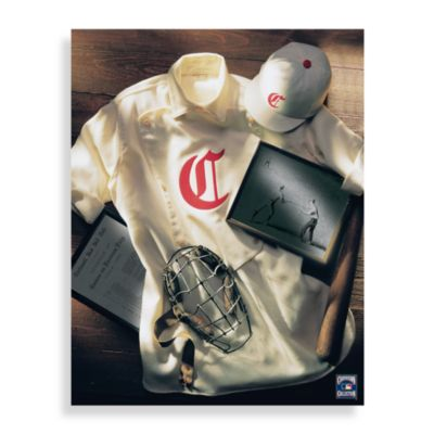 MLB Cincinnati Reds Vintage Collage Canvas Wall Art