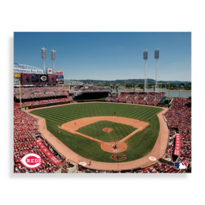 MLB Cincinnati Reds Great American Ball Park Canvas Wall Art