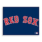 MLB Boston Red Sox Logo Canvas Wall Art