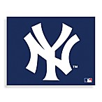 MLB New York Yankees Logo Canvas Wall Art