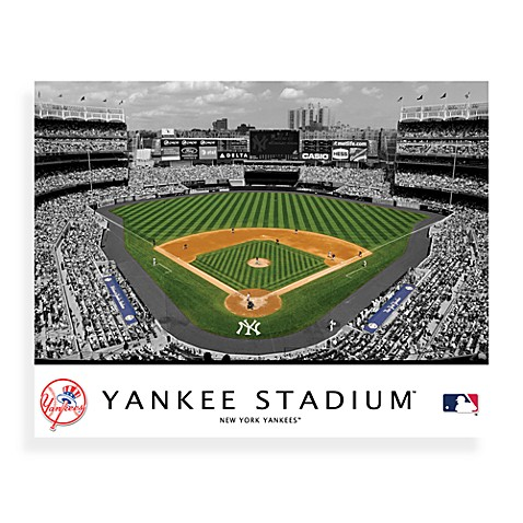 MLB New York Yankees Stadium Canvas Wall Art