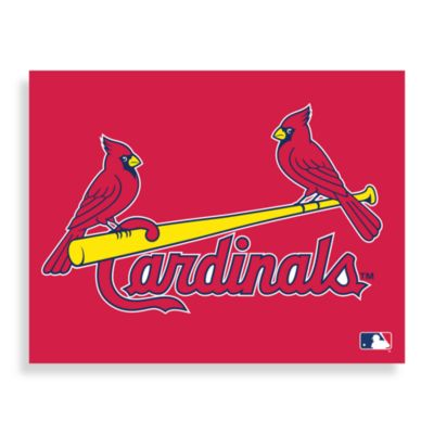 MLB St. Louis Cardinals Logo Canvas Wall Art