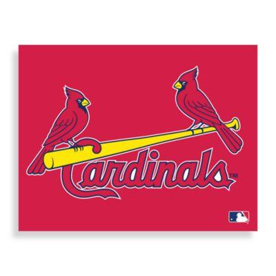 MLB St. Louis Cardinals Logo Canvas Wall Art