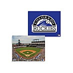 MLB Colorado Rockies Canvas Wall Art