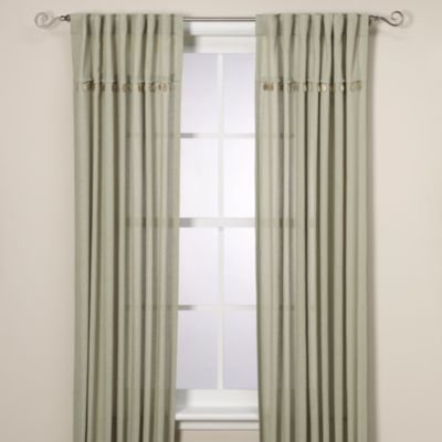 "Chelsea 84"" Rod Pocket/Back Tab Window Curtain Panel"