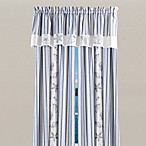 Seaside Window Curtain Panel, 100% Cotton