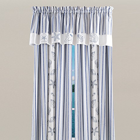Seaside Window Curtain Panel