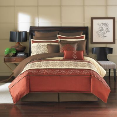 Petra 12-Piece Queen Bedding Superset
