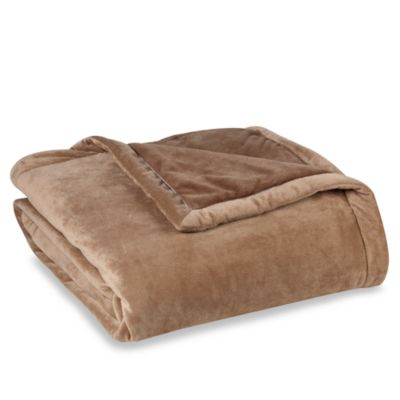 Cyprus Full/Queen Blanket with Thinsulate™ in Taupe
