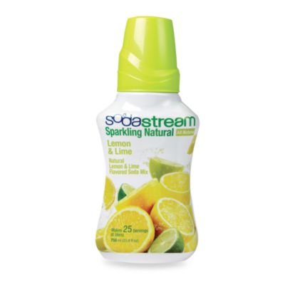 SodaStream Sodamix Sparkling Natural in Lemon & Lime