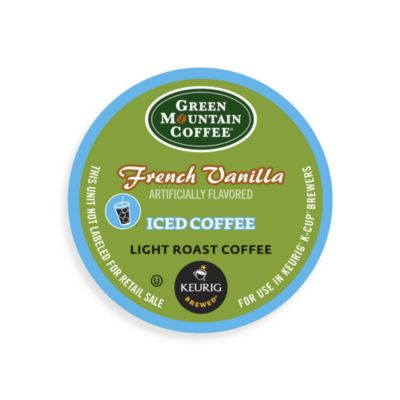 Keurig® K-Cup® Pack 16-Count Green Mountain Coffee® French Vanilla Iced Coffee