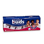 DiaperBuds® 9-Pack Individually Wrapped Size 2 Diapers