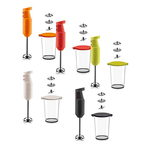 Bodum® Bistro Electric Handheld Blender Stick - Red