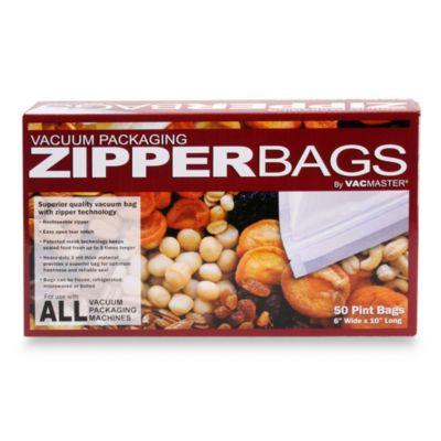 Vac Master Zipper Bags