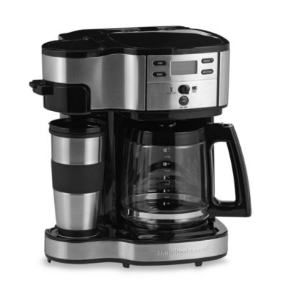 Hamilton Beach® The Scoop™ Two-Way Brewer
