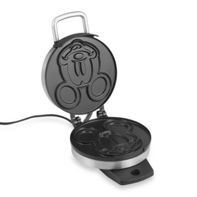 Black Stainless Waffle Maker
