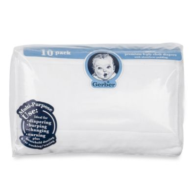 Gauze Prefolded Cotton Diaper