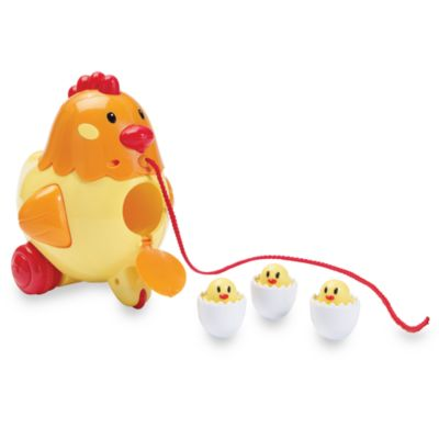 International Playthings Kidoozie Henrietta the Pull Along Hen