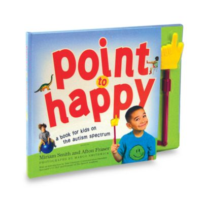 Point to Happy Book in Designed for Children on the Autistic Spectrum