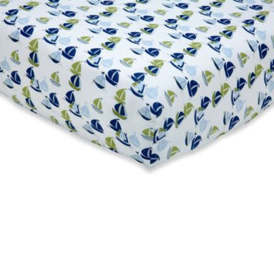 Nautica Kids® Zachary Fitted Crib Sheet