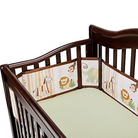 BreathableBaby® Universal Mesh Crib Liner in Safari
