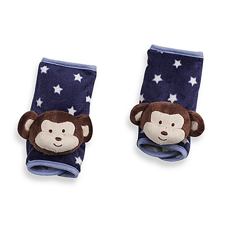 CoCaLo™ Monkey Mania High Chair Strap Covers (Set of 2)