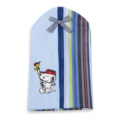 Lambs & Ivy® Team Snoopy Diaper Stacker
