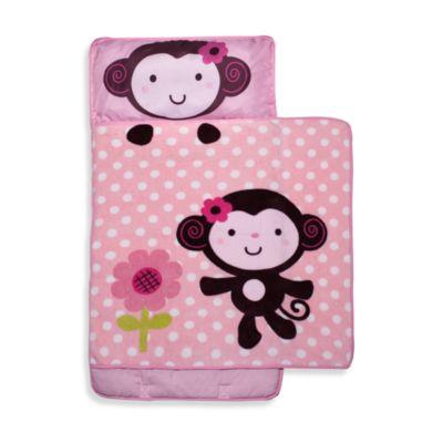 Napmats > kidsline™ Nap Mat in Pink Monkey