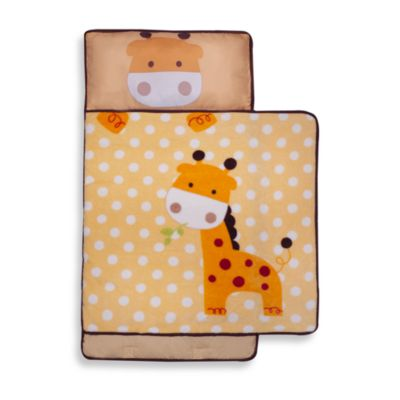 kidsline™ Nap Mat in Yellow Giraffe