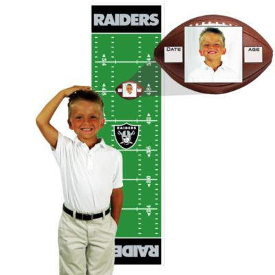 NFL Oakland Raiders Green Growth Chart