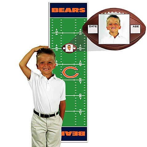 NFL Chicago Bears Green Growth Chart