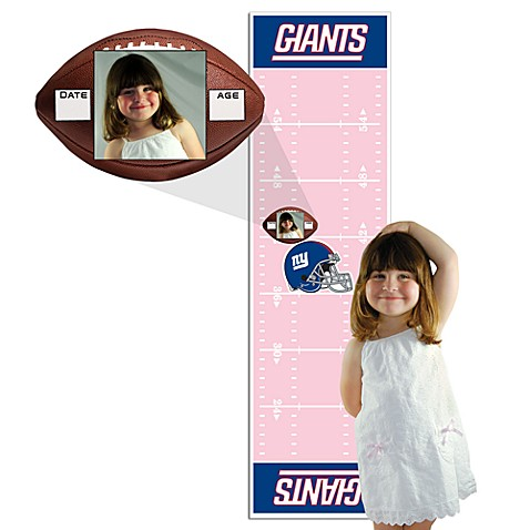 NFL Pink Growth Chart in New York Giants