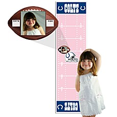 NFL Indianapolis Colts Pink Growth Chart