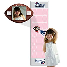 NFL New England Patriots Pink Growth Chart