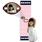 NFL Pink Growth Chart in Chicago Bears