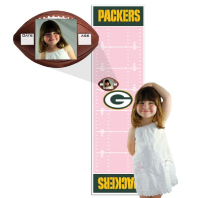 NFL Pink Growth Chart in Green Bay Packers